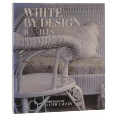 White By Design Hardcover Decorative Book by Bo Niles