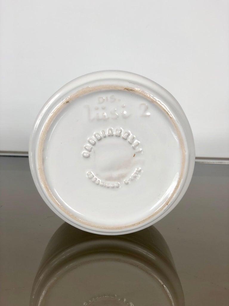 White Ceramic Ashtray