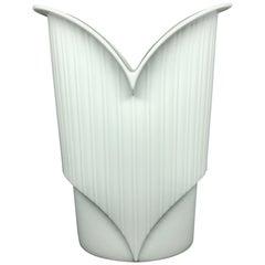 White China Porcelain Vase by Jan van der Vaart for Rosenthal