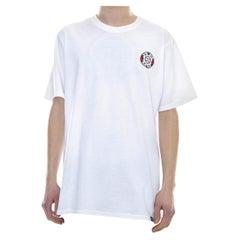 White cotton Africa T-shirt NWOT