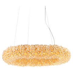 White Crown 1100 by Ango, Contemporary Handcrafted Ring of Light