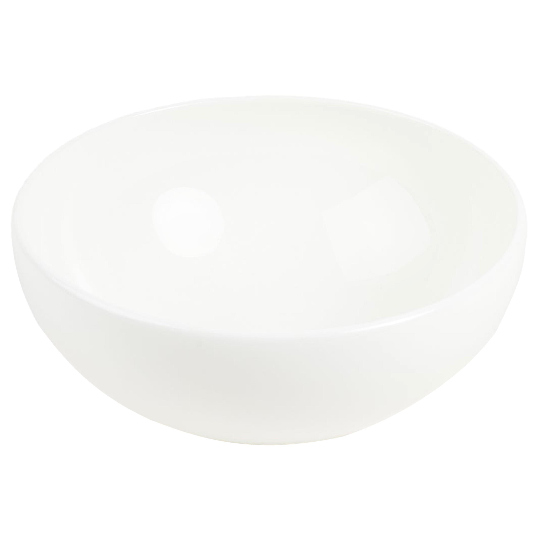 White Fine Bone China Bowl