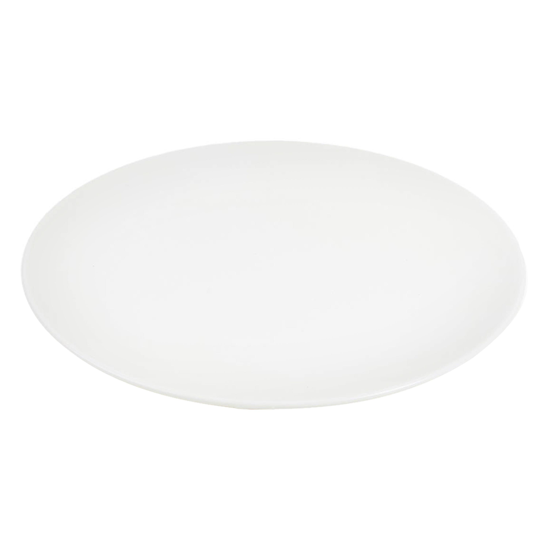 White Fine Bone China Salad Plate