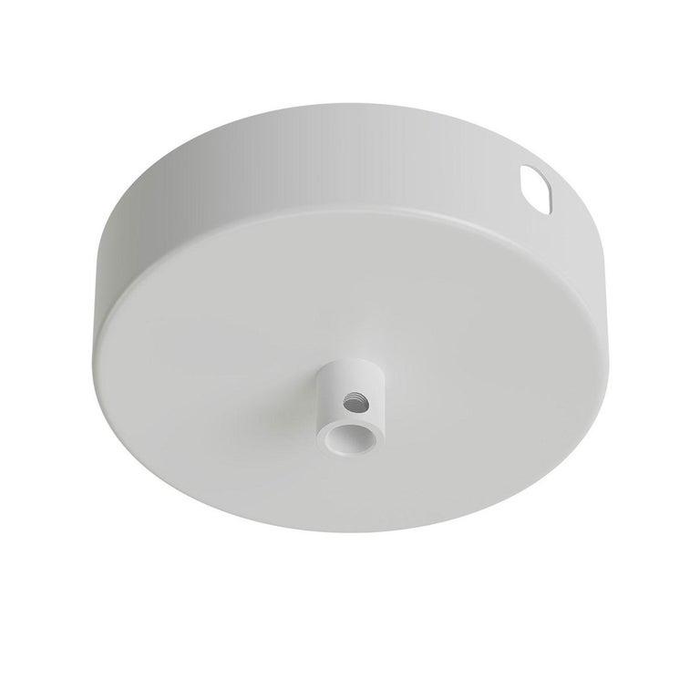 White French Opaline Milk Glass Shade Brass Pendant Light For Sale 1