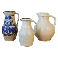 White Glazed Pitcher, Onta Pottery Village, Japan, 2015