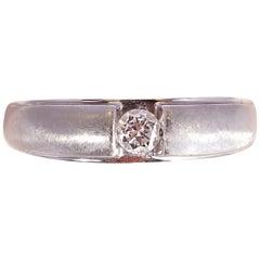White Gold 0.25 Carat Diamond Ring