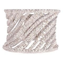 White Gold 0.60 Carat Diamond Ring