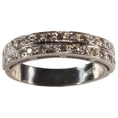 White Gold 18 Karat Diamond Ring