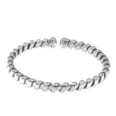 White Gold 18 Karat Tubogas Bracelet
