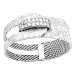 White Gold and Diamonds Uti Vintage Watch