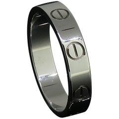 White Gold Cartier Love Ring 18 Karat 49