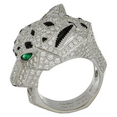 White Gold Cartier Panthere Ring
