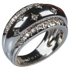 White Gold 18k Diamond Ring