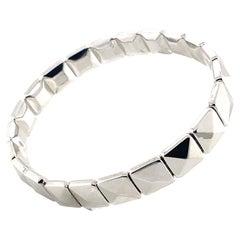 Modern 18K White Gold Chimento Bracelet