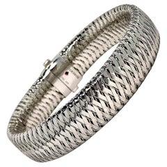 White Gold Roberto Coin Bracelet
