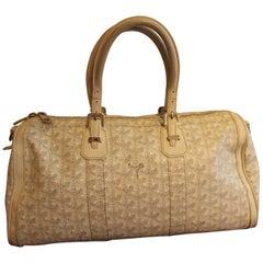 White Goyard Bag
