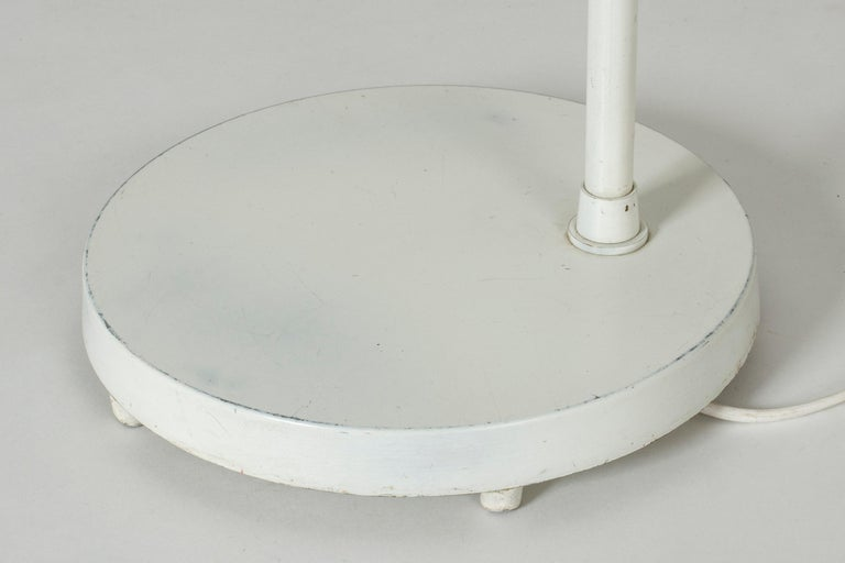White Lacquer Floor Lamp by Bertil Brisborg For Sale 2