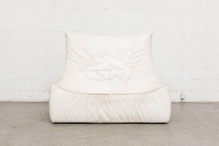 Dutch White Leather