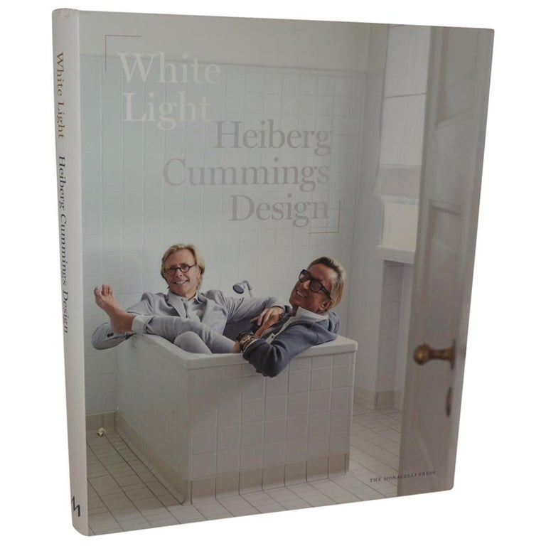 White Light Heiberg Cummings Design Hard-Cover Coffee Table Book For Sale