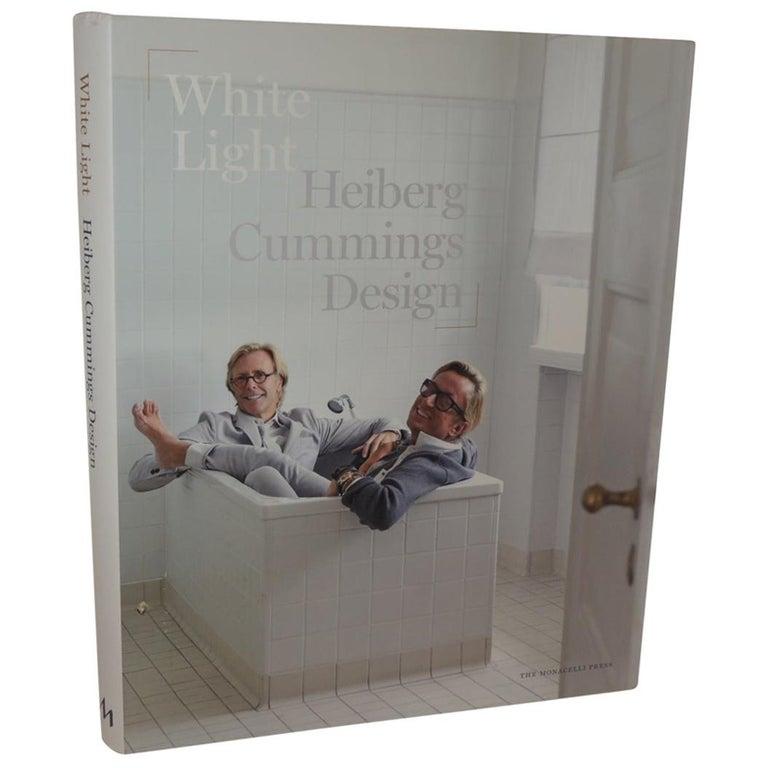 White Light Heiberg Cummings Design Hard-Cover Coffee Table Book For Sale