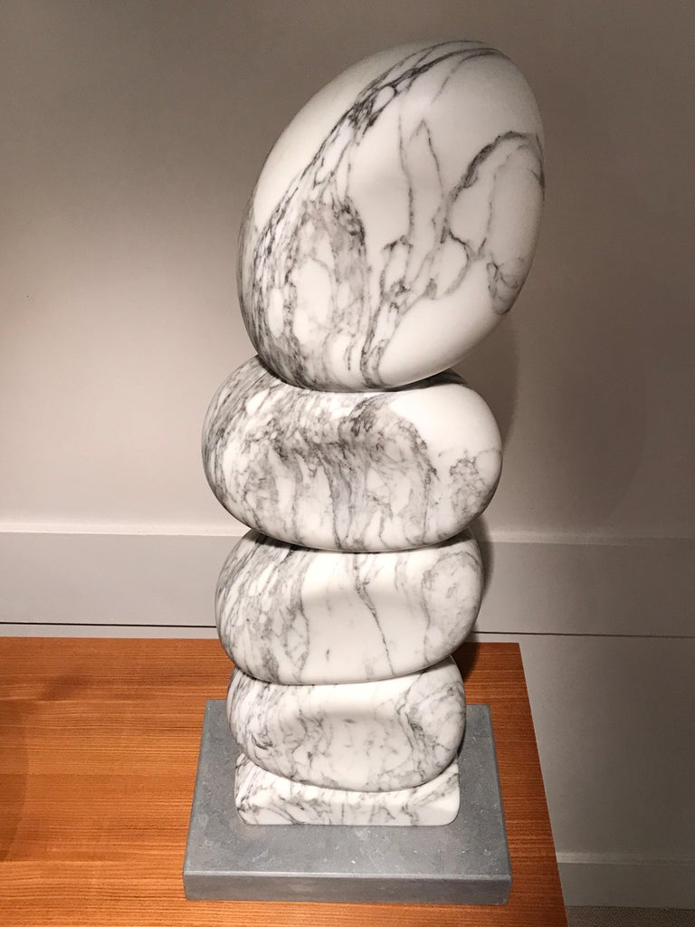 White Marble Sculpture by Jean Frederic Bourdier In Excellent Condition For Sale In Saint-Ouen, FR