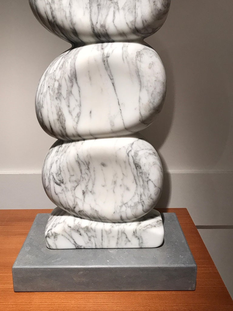 White Marble Sculpture by Jean Frederic Bourdier For Sale 2