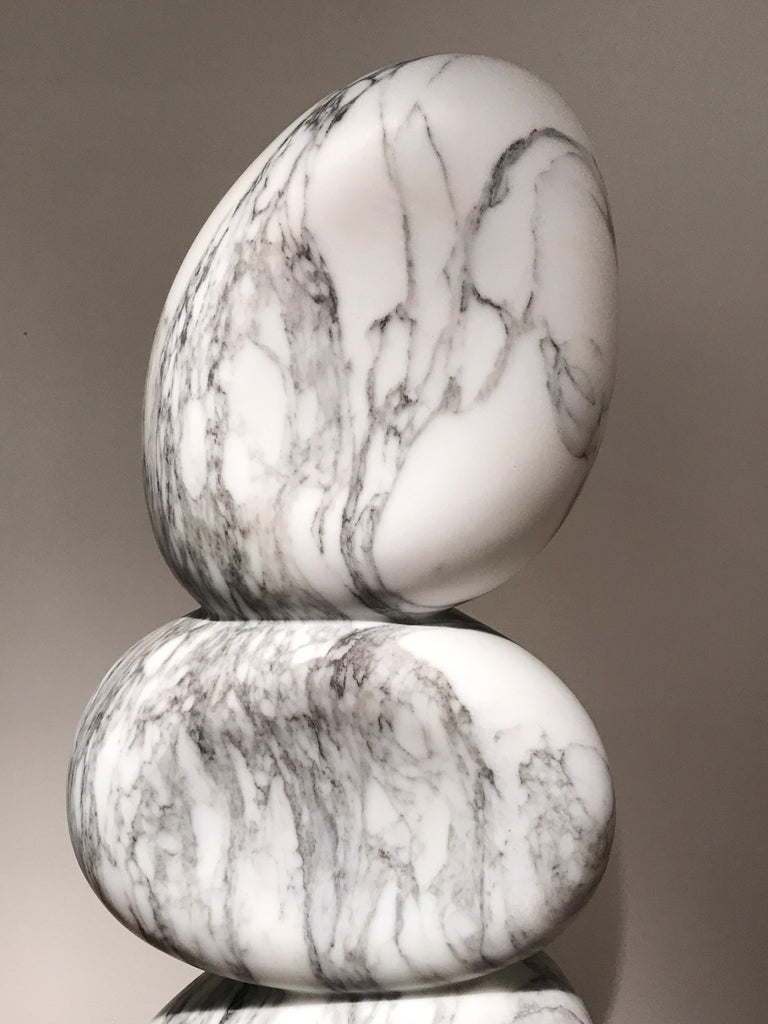 White Marble Sculpture by Jean Frederic Bourdier For Sale 3