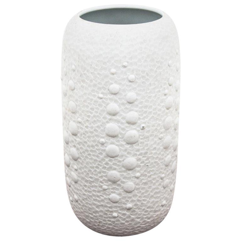 White Midcentury Porcelain Vase, Germany, Royal Porzellan KPM