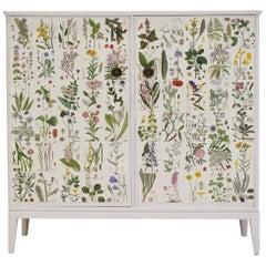 White Nordens Flora Cabinet