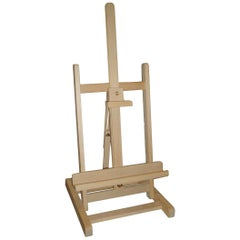 White Oak Adjustable Table Easel from Paris