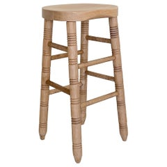 White Oak Bar Stool