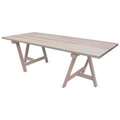 White Oak Dining Table by Mark Jupiter
