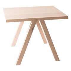White Oak Dining Table Two Top GH