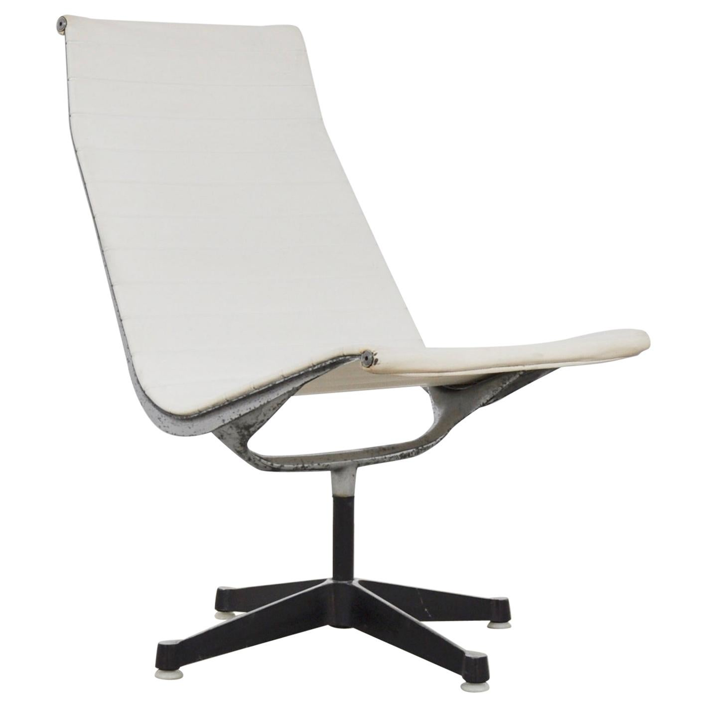 White Office Armchair by Charles & Ray Eames for Herman Miller, 1970s