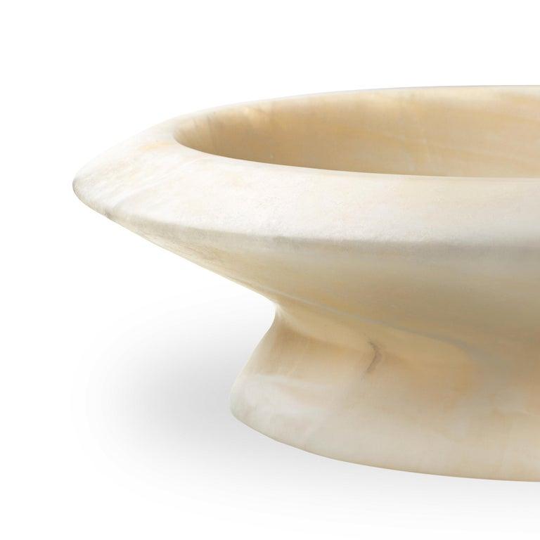 Italian White Onyx Amaltea by Ivan Colominas For Sale