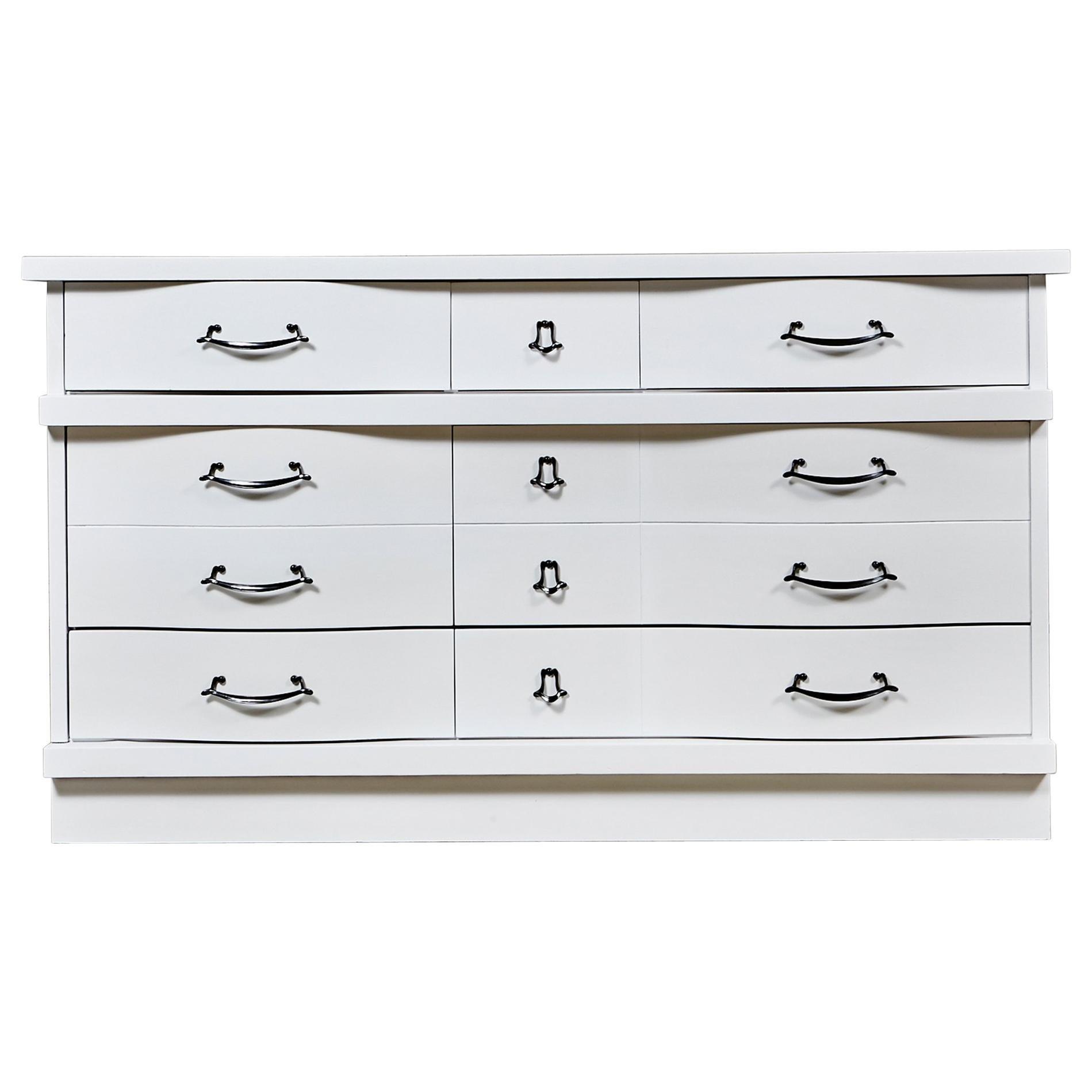 White Painted Dresser, 1960s