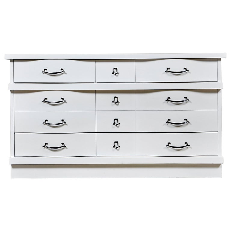 White Painted Dresser, 1960s For Sale