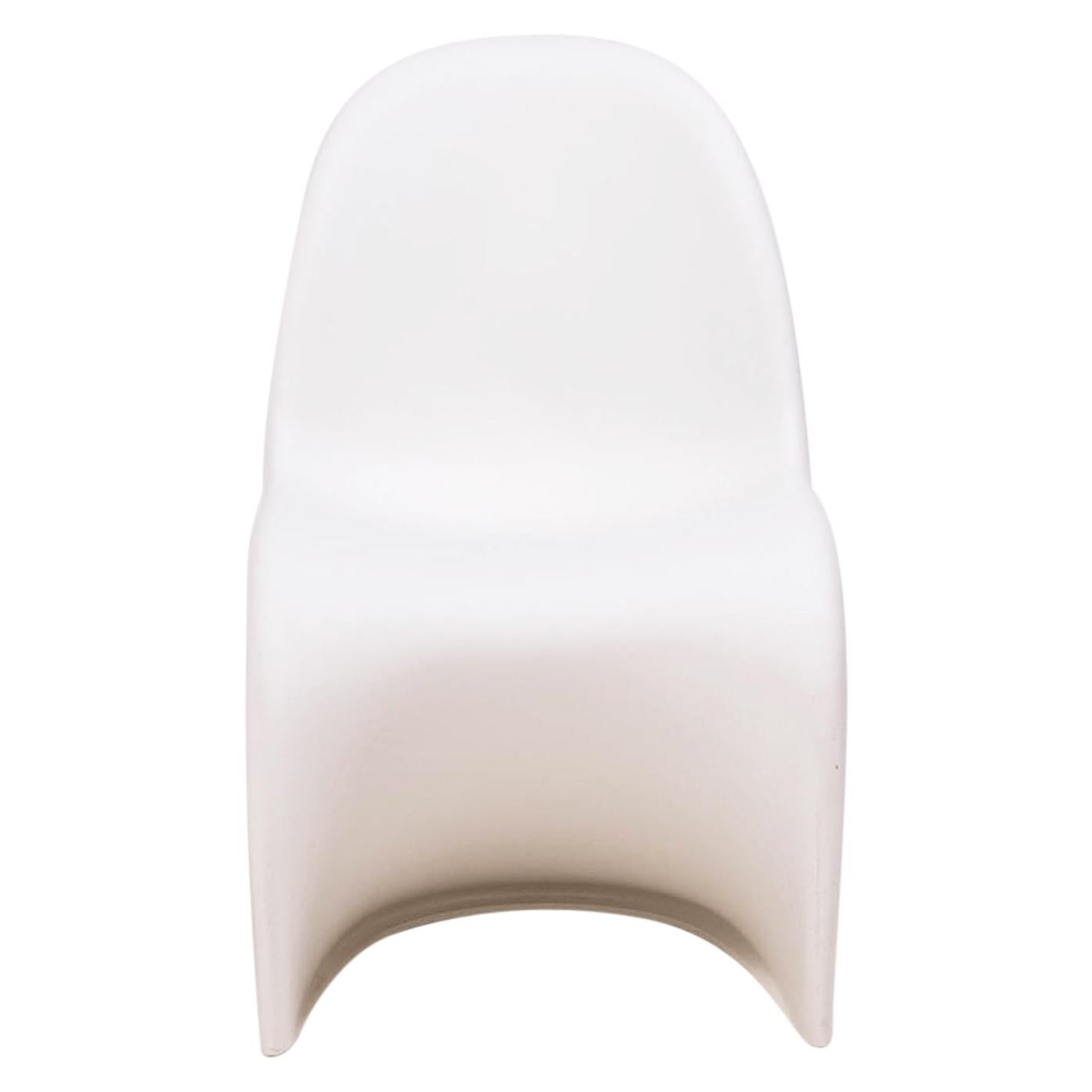 Mid Century Modern White Panton Chairs by Verner Panton for Vitra