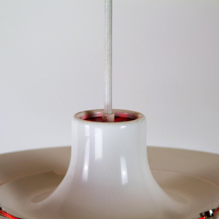 Mid-20th Century White PH5 Pendant Light by Louis Poulsen, Denmark For Sale