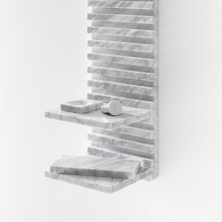 Italian White Place Wardrobe, Design Philippe Malouin, 2017 For Sale