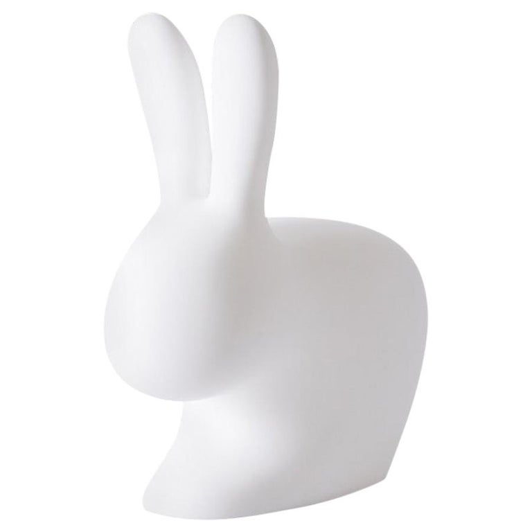 In Stock in Los Angeles, White Rabbit Chair, Designed by Stefano Giovannoni For Sale