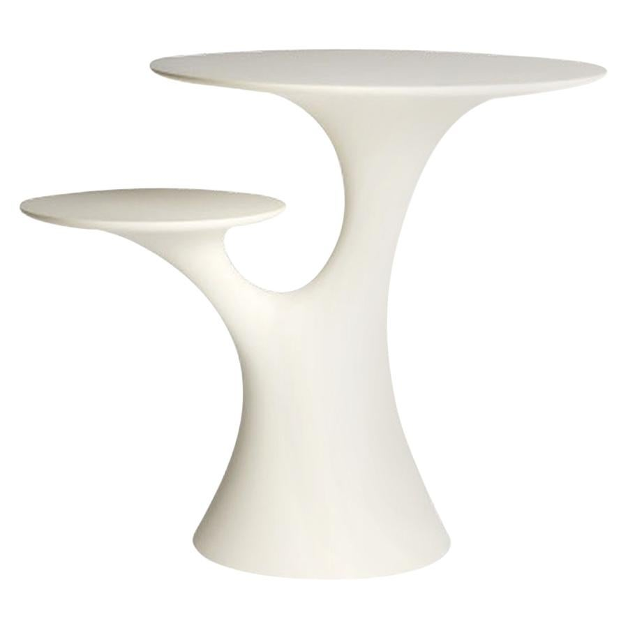 In Stock in Los Angeles, White Rabbit Children Table, Made in Italy
