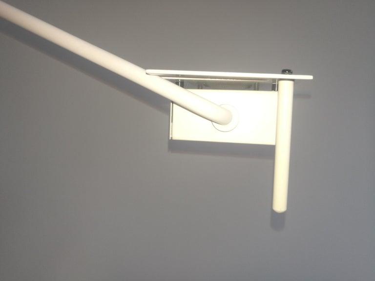 Late 20th Century White Samurai Floor Lamp by Sigheaki Asahara Voor Stilnovo, 1980s For Sale