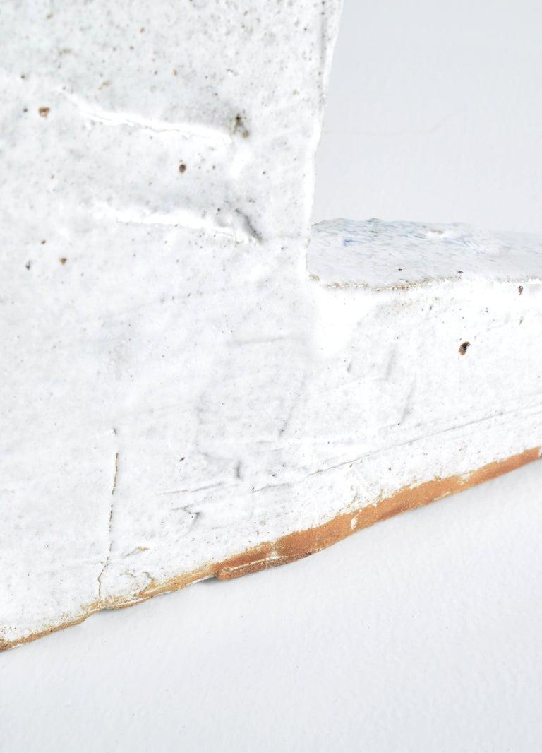White Stoneware Sculpture by Ole Bjørn Krüger from Own Studio, Denmark, 1960s For Sale 5