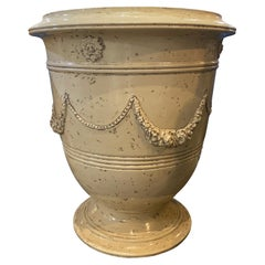 White Terracotta Planter