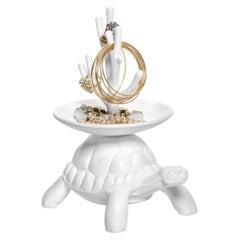 White Turtle Carry XS Jewelry Tree, Designed by Marcantonio