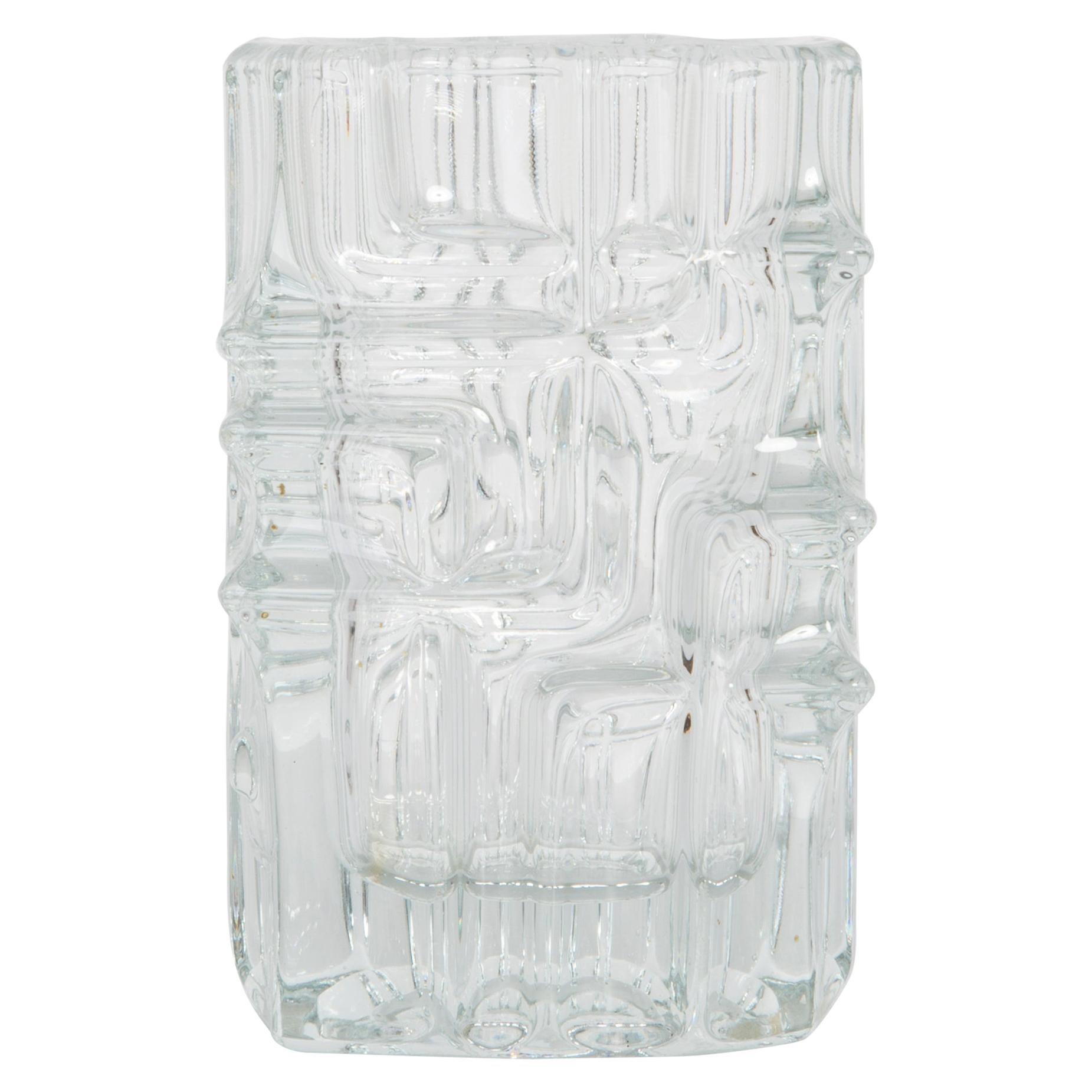 White Vase by Vladislav Urban for Sklo Union, 20th Century, Europe, 1960s