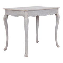 White-Washed Oak Side Table