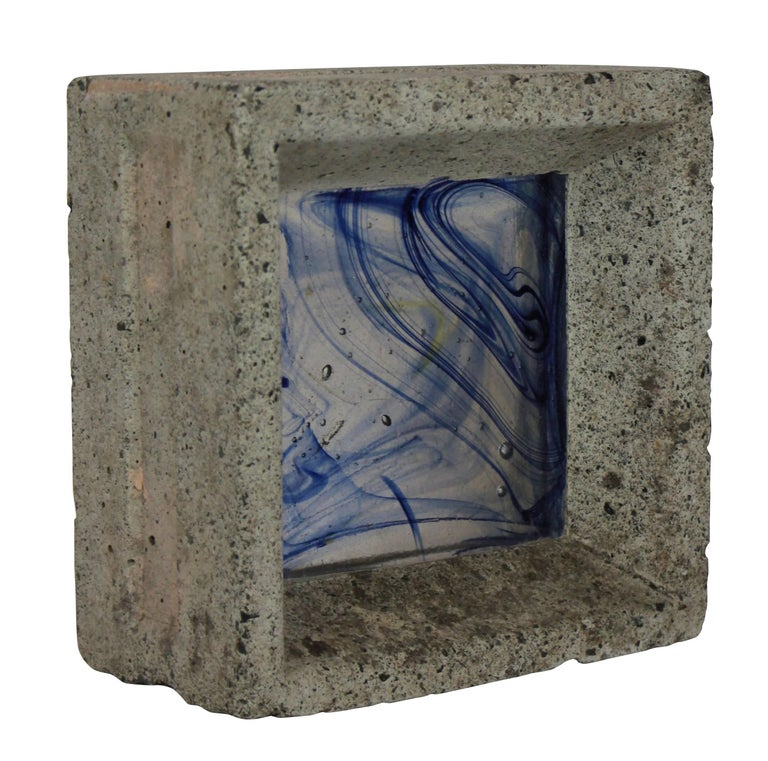 English Whitefriars Glass Brick For Sale