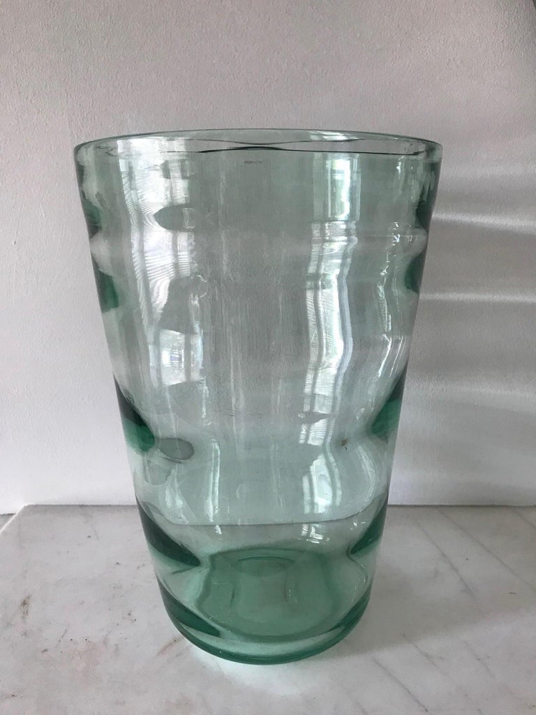 20th Century Whitefriars Vase, circa 1957 For Sale